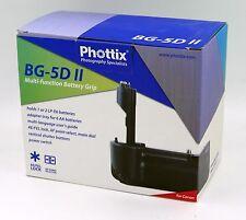 Phottix BG-5Dll Multi-Functional Grip for the Canon 5D Mark ll NOS Free Shipping