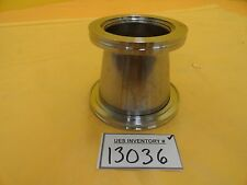 MKS Instruments Conical Reducer Nipple Adapter ISO100 to ISO80 ISO-K Used