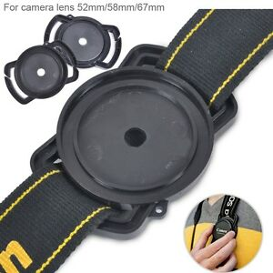 Lens-Cap-Holder-Buckle-Keeper-For-52mm-58mm-67mm-Nikon-Canon-Sony-Pentax