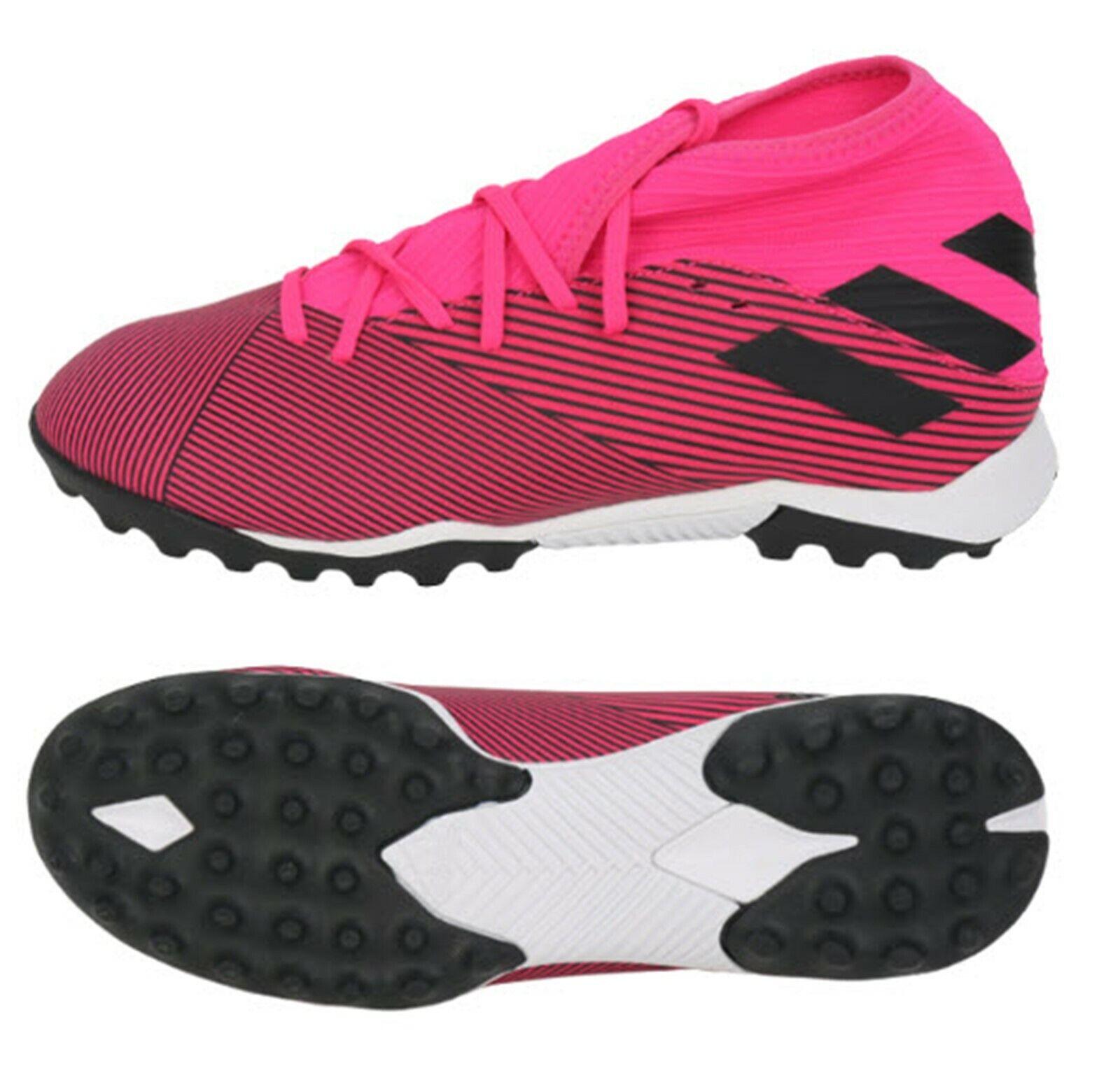 Adidas Hommes NEMEZIZ 19.3 TF Cleats Futsal rose Soccer chaussures bottes Spike F34426
