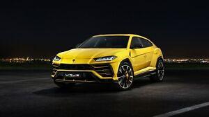 2018-Lamborghini-Urus-Auto-Car-Art-Silk-Wall-Poster-Print-24x36-034