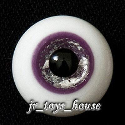 Extra High Grade /& Quality Glass Eye 18mm Purple Vein HG SD 1//3 BJD