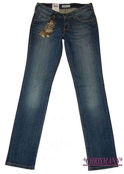 Lee Norma Jeans Tube W26,W27,W32,W33 L33 New Stretch Slim Trousers Indigo bluee
