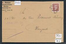 81181) DR Ostgebiete Polen Stettin, Post-ZU 1928 EF 60PF Stephan 362y