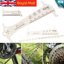 1PC Portable Bike Chain Wear Indicator Gauge Checker Tool Cycling UK*