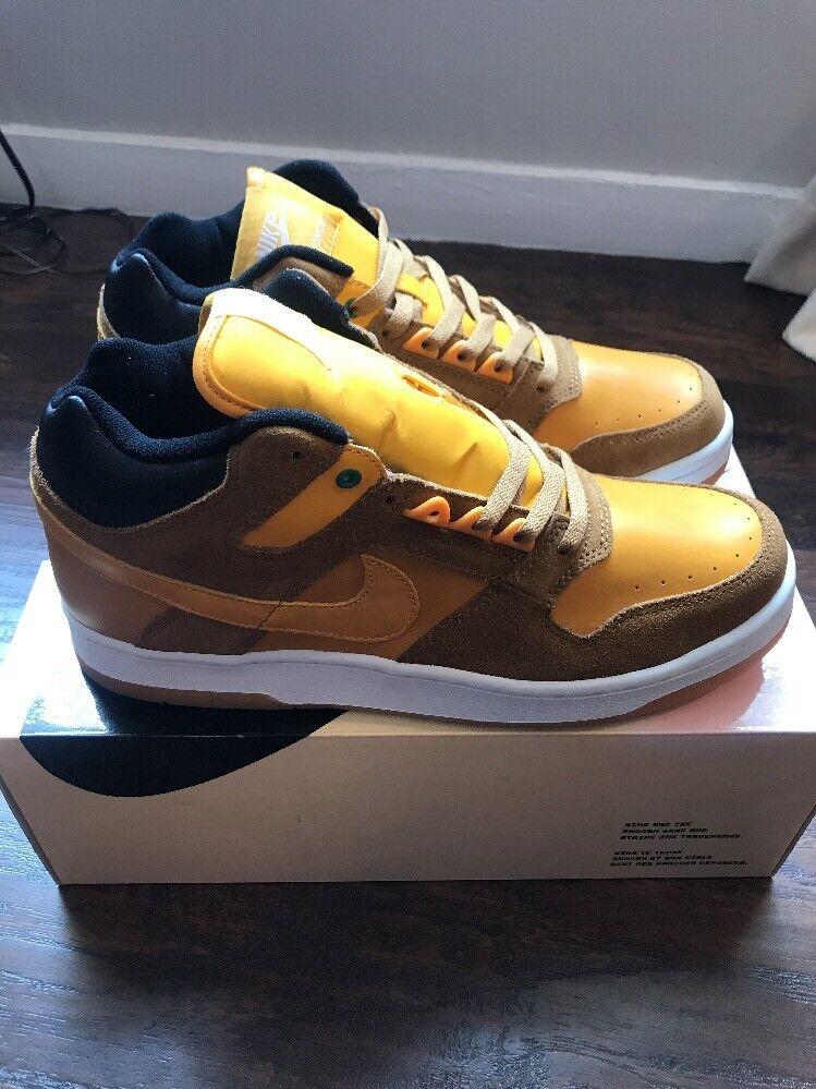 Supreme x SB Delta Force 3 4 Men's Size 10 gold New w  Box 100% Authentic