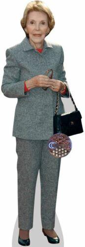 Nancy Reagan Standee. Suit Cardboard Cutout mini size