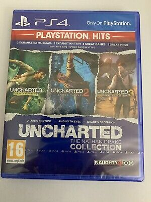 Uncharted 1 2 3 3 Great Games The Nathan Drake Collection