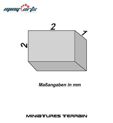 10 Magnete Neodimio Quadrato 2 X 2 X 1 Mm Super Per Modellismo Mini Permanentmag Risparmia Il 50-70%