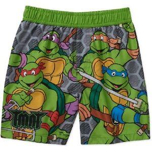 b15756a03d Teenage Mutant Ninja Turtles Boys Swim Shorts Red Blue Size 0-3 & 3 ...