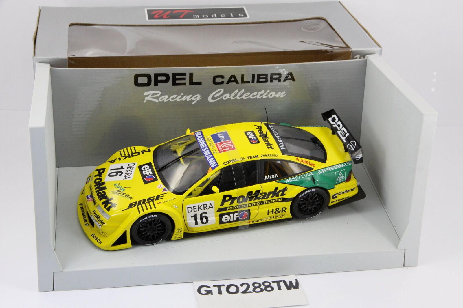 UT/Minichamps 1:18 scale OPEL CALIBRA V6 ITC/DTM 1996