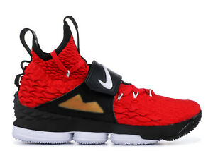 a7926a44bb0 Nike LeBron 15 XV Red Diamond Turf Prime Deion Sanders Size 11 ...