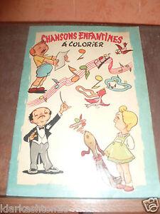 Chansons-enfantines-a-colorier-vierge-Editions-S-I-R-E-C