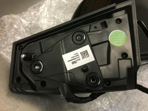 2017-2019 Chevy Bolt Right Side Signal Door Mirror OEM Camera Blind Spot