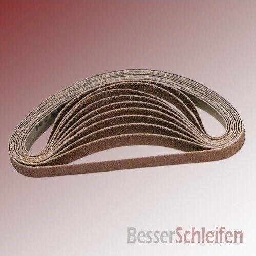 10 abrasifs schleifband 13x455 mm grain p120 pour Black /& Decker power Lime