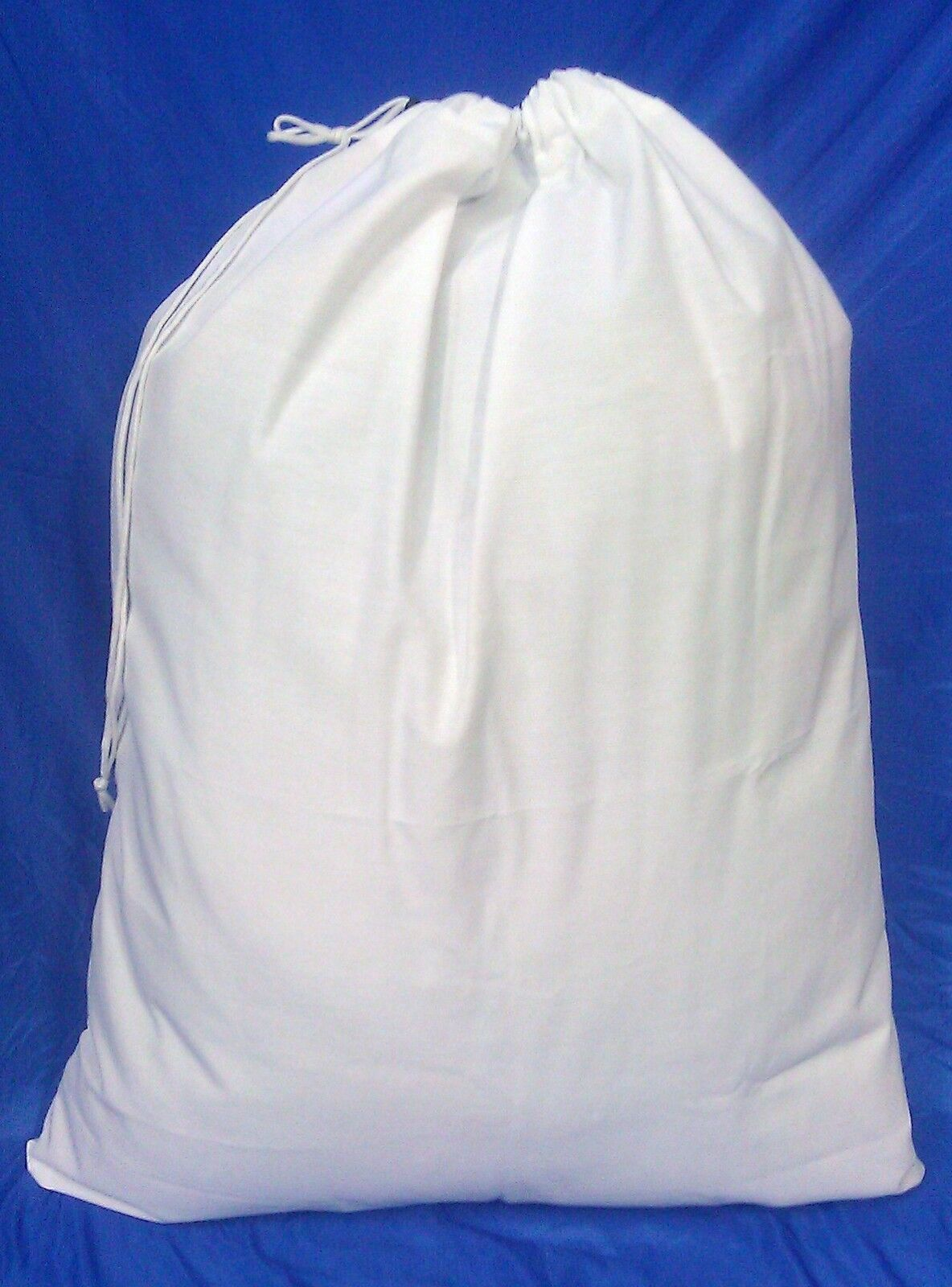 40 Weiß HEAVY DUTY 30x40 CANVAS STYLE LAUNDRY BAGS - MADE IN USA
