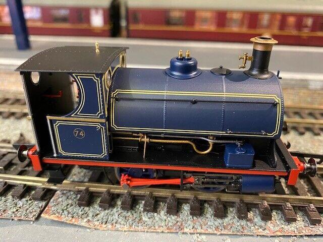 R3679 Hornby OO Gauge Peckett Ssquadra Locomotive Port of London Livery