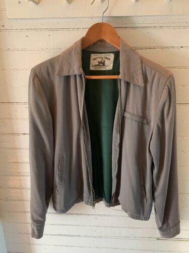 Vintage Gabardine Jacket 40's-50's Rockabilly Paci