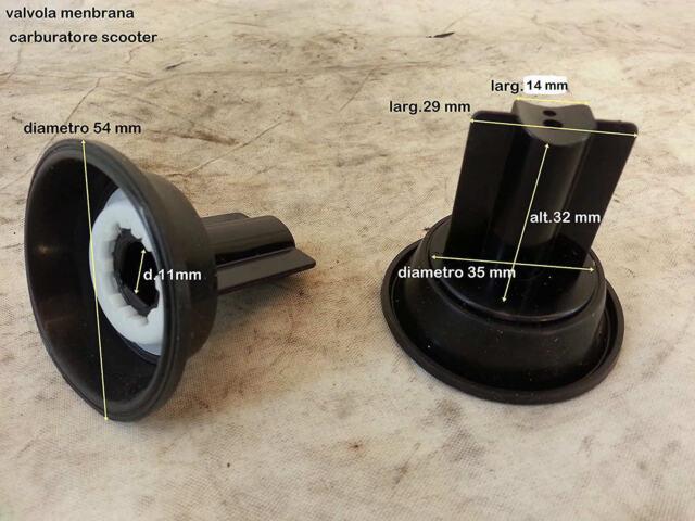 1 Membrane Carburateur suzuki An Burgman 250 W - K2 (98-02) cod.13500-14F00-000