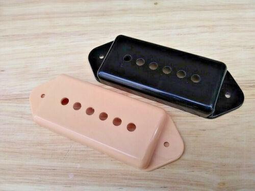 Dog Ear P90 Pickup Covers 49mm Pole Spacings FIT GENUINE GIBSON Cream or Black