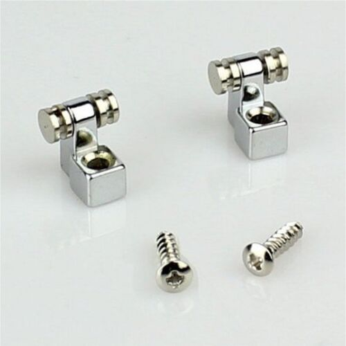 2 x ELECTRIC GUITAR ROLLER STRING RETAINERS MOUNTING TREE GUIDES 500