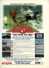"Dawn Patrol The First Air Wat ""Empire Interactive"" 1994 Magazine Advert #5752"