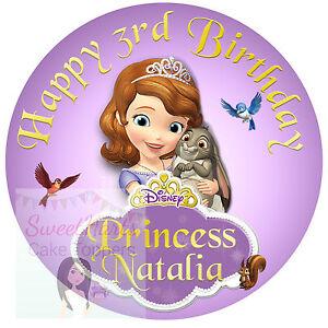 Cake Topper Princess Sofia