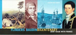 Australia-Post-Design-Set-MNH-2002-Flinders-Baudin-Bicentenary