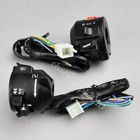 Motorcycle 7/8 Handlebar Horn Turn Signal Electrical Start Switch For Honda Yu