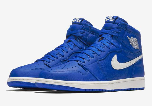 new style 2fd32 46181 Nike Air Jordan 1 Retro High OG HYPER Royal Blue-sail Sz 15 555088-401