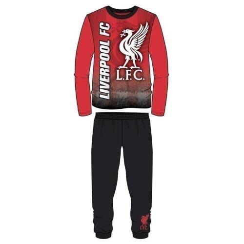 Boys Kids Children Teenage Liverpool FC Pyjamas PJ/'s Pyjama Set Sleepwear 4-12Y