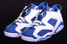 31a837fbc4d9 item 3 Nike Mens 2015 Air Jordan 6 VI Retro Low Seahawks 304401 106 Size  9.5-12 -Nike Mens 2015 Air Jordan 6 VI Retro Low Seahawks 304401 106 Size  9.5-12