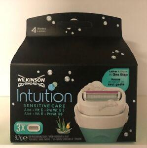 6 x Intuition Sensitive Care Klingen, mit Aloe Vera, Vitamin E & Pro Vitamin B5