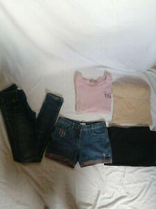 LOT-de-5-vetements-34-femme-fille-ado-tee-shirt-morphologiqu-corps-mis-en-valeur