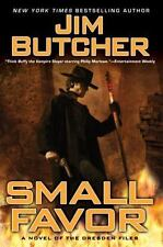 Dresden Files: Small Favor 10 by Jim Butcher (2008, Hardcover)