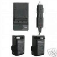 Charger For Canon Dc-310 Dc-320 Dc-330 Zr-900 Digital Rebel Xt Xti S30 S40