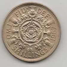 GB - 2 Shillings (Florin) - QEII unc.1967 Copper-nickel – 11.30 g –ø28.52mm