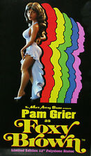 """Pam Grier Foxy Brown 12"""" statue black African American L Word Lesbian int xmas"""
