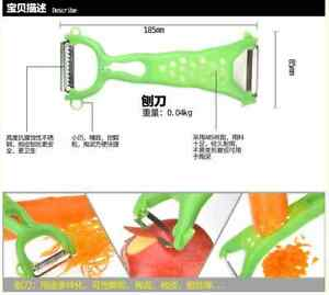Kitchen-Helper-Gadgets-Fruit-Vegetable-Peeler-Parer-Julienne-Cutter-Slicer-Tools