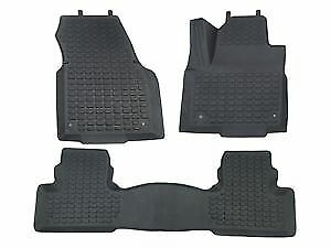 Range Rover Evoque RHD Rubber Over Mats Front and Rear Set DA4812