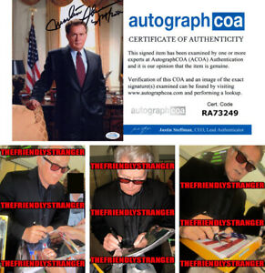 MARTIN-SHEEN-signed-Autographed-034-THE-WEST-WING-034-8X10-PHOTO-A-PROOF-ACOA-COA