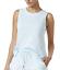 Nautica-women-039-s-Side-Striped-Sleeveless-Pajama-Top-Light-Royal-Medieval-Blue thumbnail 6