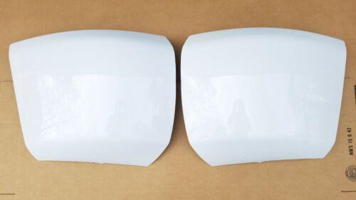 2PC Set 2007-2013 SILVERADO Front Bumper Painted WHITE WA8624 Corner End Caps