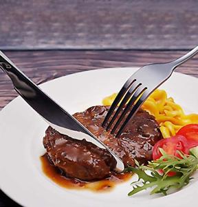 Stainless Steel Flatware Cutlery Set, Umite Chef 30-Piece Silverware Set for 6