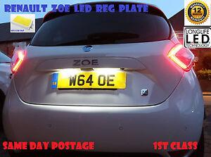 Numero-de-bombillas-LED-Renault-Zoe-Licencia-Reg-Placa-T10-W5W-12-meses-de-garantia