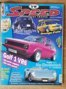 Speed Trends Nr. 6 / 01 - Juni - Deutschland - Speed Trends Nr. 6 / 01 - Juni - Deutschland