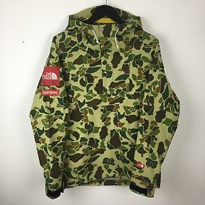 Image Is Loading The North Face X Supreme Ss10 Duck Camo