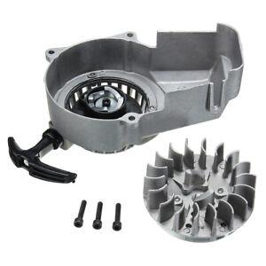 Metal-Pull-Start-2-Stroke-47cc-49cc-Mini-Moto-Scooter-Dirt-Pit-Quad-Bike-ATV