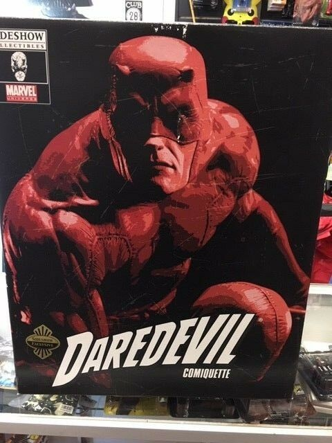 Marvel Darotevil Comiquette Sideshow Collectibles Exclusive Used JC