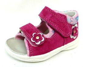 big sale 901ab 7554b Details zu Superfit Mädchen Sandale pink rosa Größe 20 21 22 23 Echtes  Leder POLLY